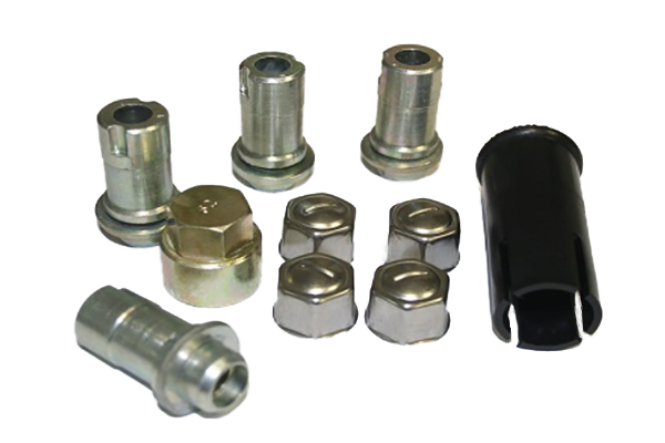 Jaguar Original Replacement Locking Wheel Nuts - Extended Thread